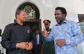 TB Joshua and Former President Kikwete