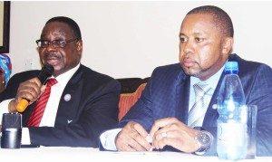 Mutharika (L) and Chilima: