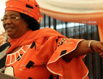 Former President Joyce Banda
