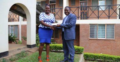 Rev. Fr. Saindi and Misa Malawi Vice Chairperson