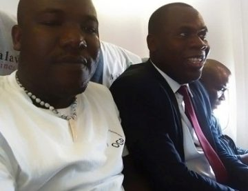 Timothy Mtambo and Gift Trapence