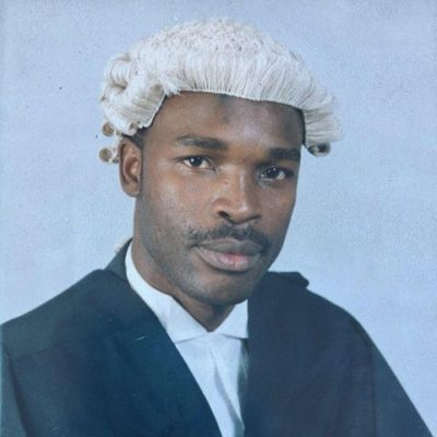 Barrister of middle temple, Z Allan Ntata
