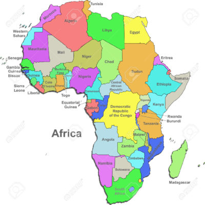 africa map full