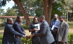 CEO Phiri with Ndau