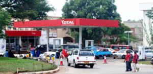 Gas Station in Malawi