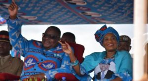 President and Mrs Peter Mutharika