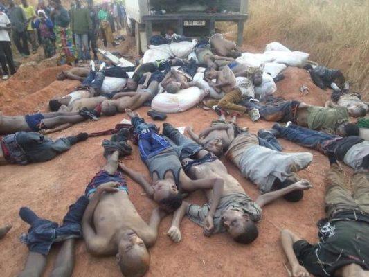 the dead Somalian people