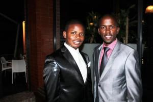 Old Good Days:Peter Sambo' During His Days As Bushiri's Top Aide