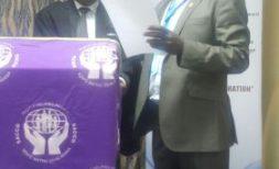 Leonard Chakwawa; taking an oath of office