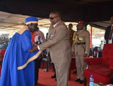 Mutharika elevating T/A Kabudula to senior chief