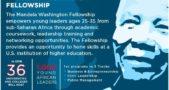 Mandela Young Fellows