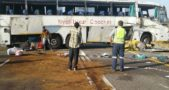 Nyali Bus involved in an accident