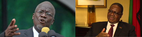 """Tanzania's Magufuli and Malawi's Mutharika: any """"Solomonic Wisdom"""" in these two to resolve the Lake Malawi question once and for all?"""