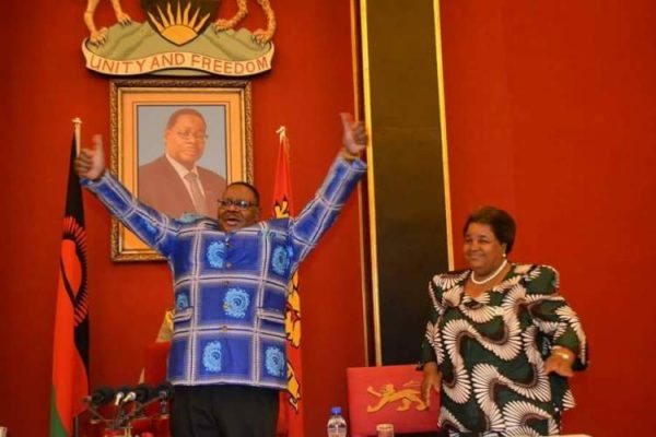 Mutharika says he is enjoying an excellent health