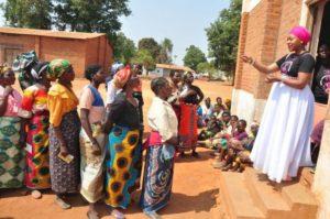 Blandina Khondowe-Awareness Campaign successful