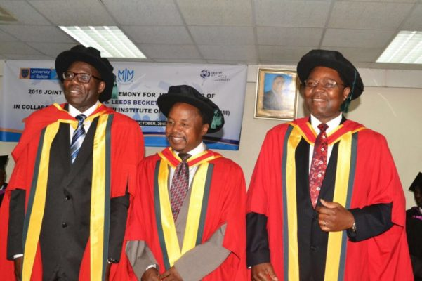 Only three were awarded with PhD's during Friday's commencement ceremony (Dr Ngwenya R)