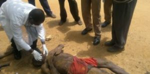 Suspect killed by Community Policing leader