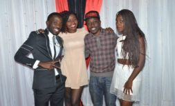 Ngwira with Patrons at the Pre party last year