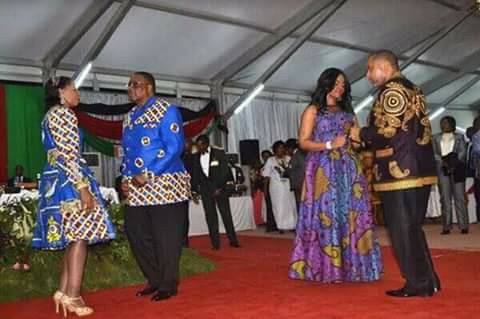 President and Vice President of Malawi and their Spouses