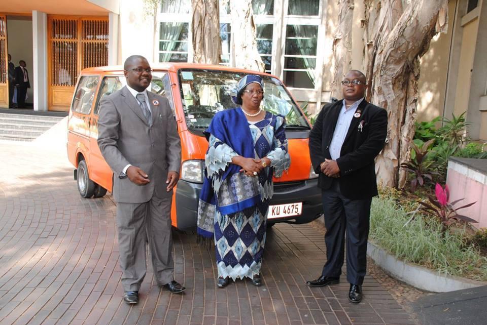 Joyce Banda and Lutepo