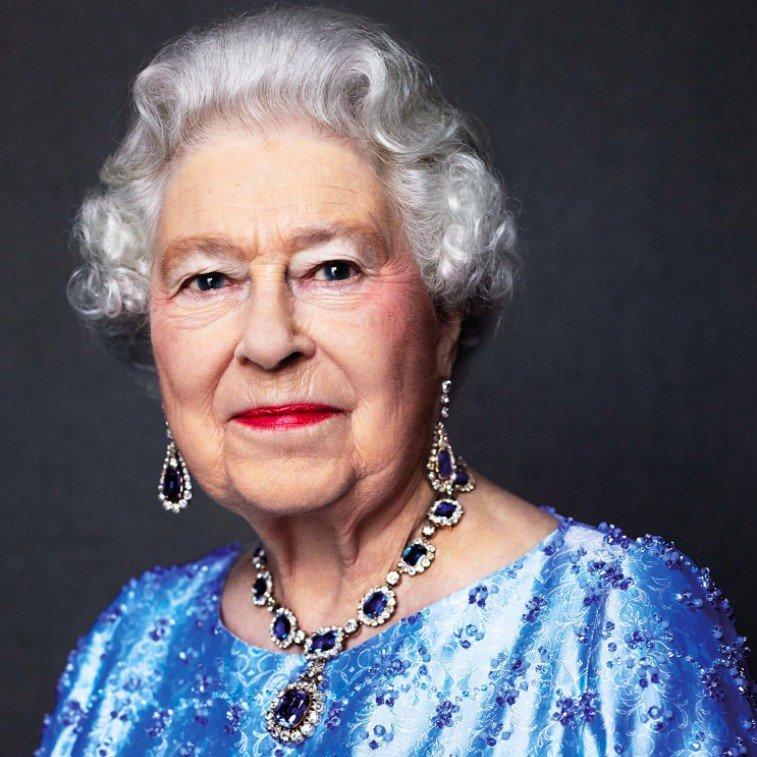 Queen Elizabeth II Sapphire Jubilee