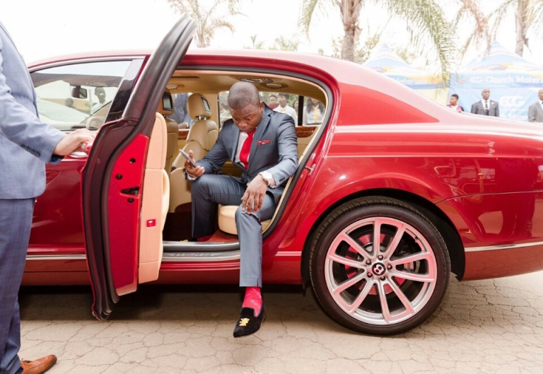 prophet bushiri shocks his church offers vehicle ownership deals to his congregants the. Black Bedroom Furniture Sets. Home Design Ideas