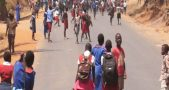 Malawi Students protest