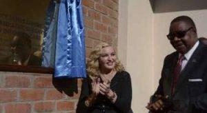 Madonna and Mutharika