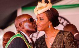Robart and Grace Mugabe