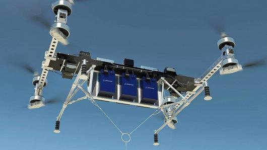 Boeing Unveils New Unmanned Cargo Air Vehicle
