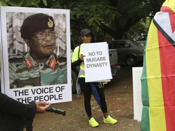 Mugabe's DownFall