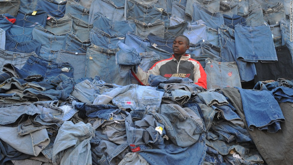 Used Clothes hurting african Economies