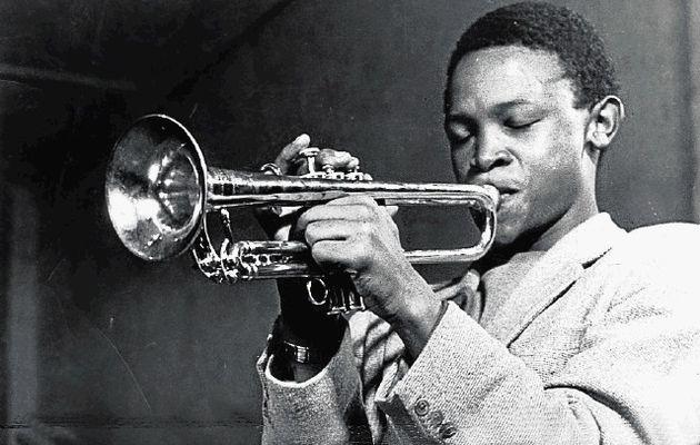 Young Hugh Masekela