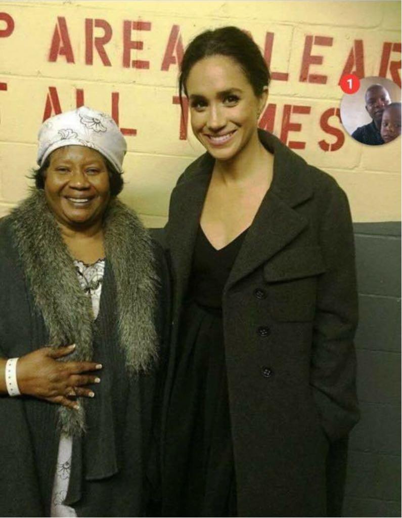 Joyce Banda and Megan Markle