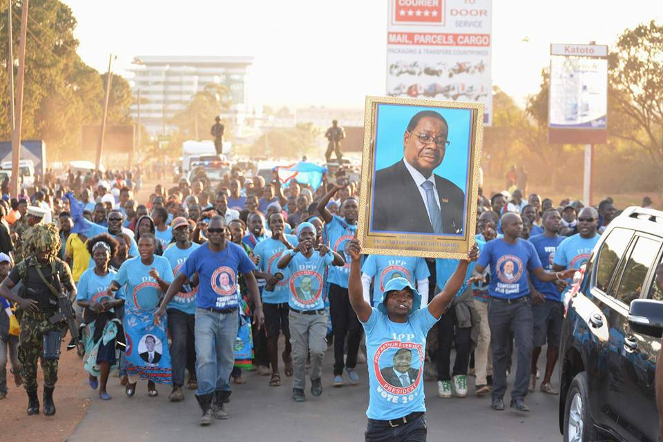 "DPP's ""landslide win"" bluff is delusional #MalawiVotes2019"