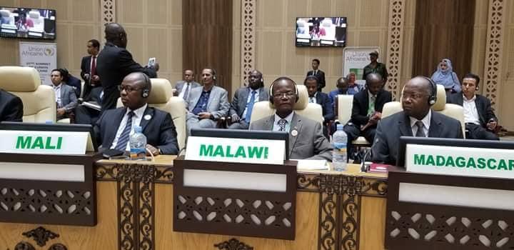 Malawi Delegate at AU