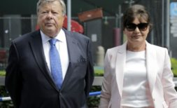 Viktor and Amalija Knavs, the parents of first lady Melania Trump
