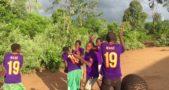 Orphans in Malawi receive 100 Mane shirts