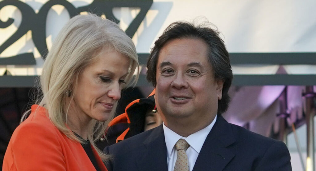 Kellyanne and George Conway