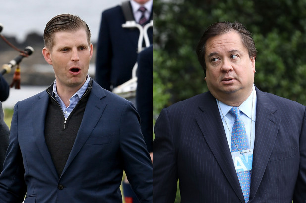 Eric Trump and George Conway
