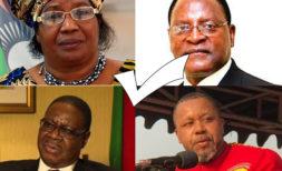 Malawi Presidential Candidates