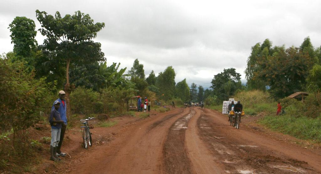 Dirty Roads in Malawi