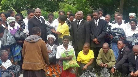 New Apostolic Church feeds the elderly in BT - The Maravi Post