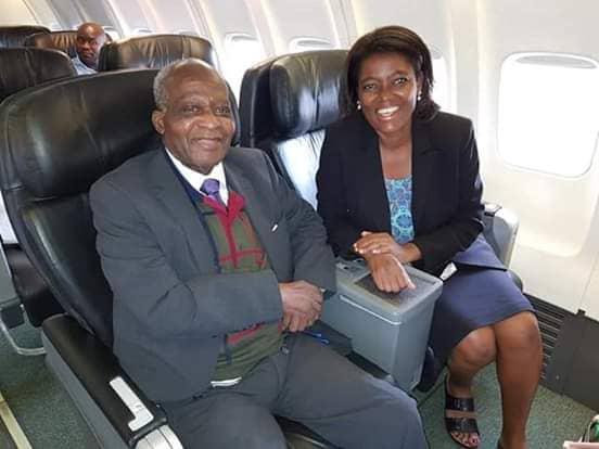 Former MCP Leader John Tembo Returns From South Africa's