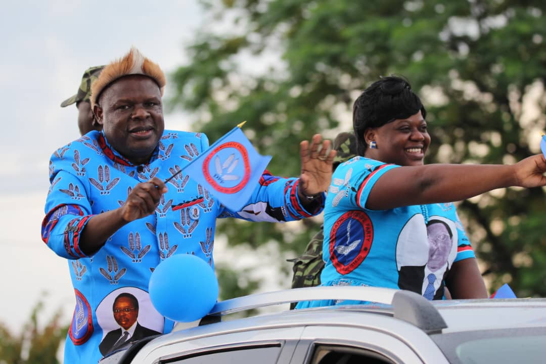Democratic Progressive Party (DPP) running mate Everton Chimulirenji