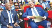 Everton Chimulilenji and Peter Mutharika