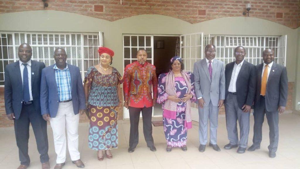 Joyce Banda and Chilima