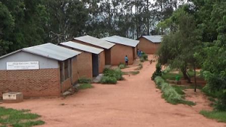 Teacher housing in Malawi