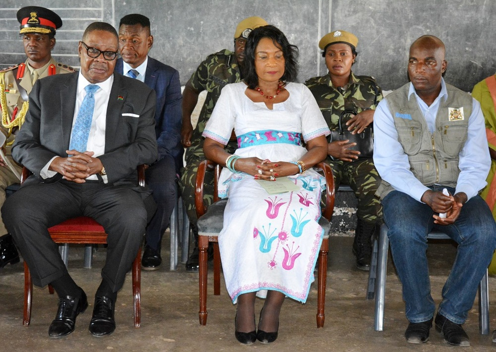 Gertrude and Peter Mutharika
