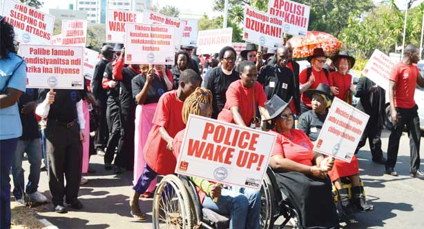 Albinos Protest in Malawi